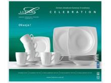 Serwis obiadowo kawowy 6 osób Celebration