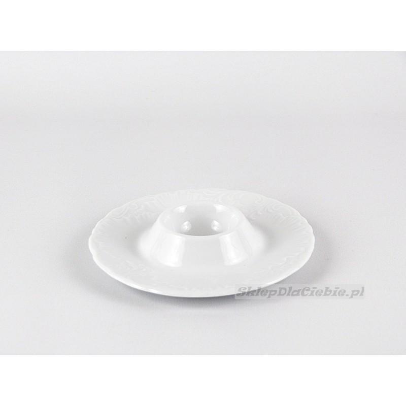 Kieliszek do jaj Ćmielów Rococo 001 (białe)