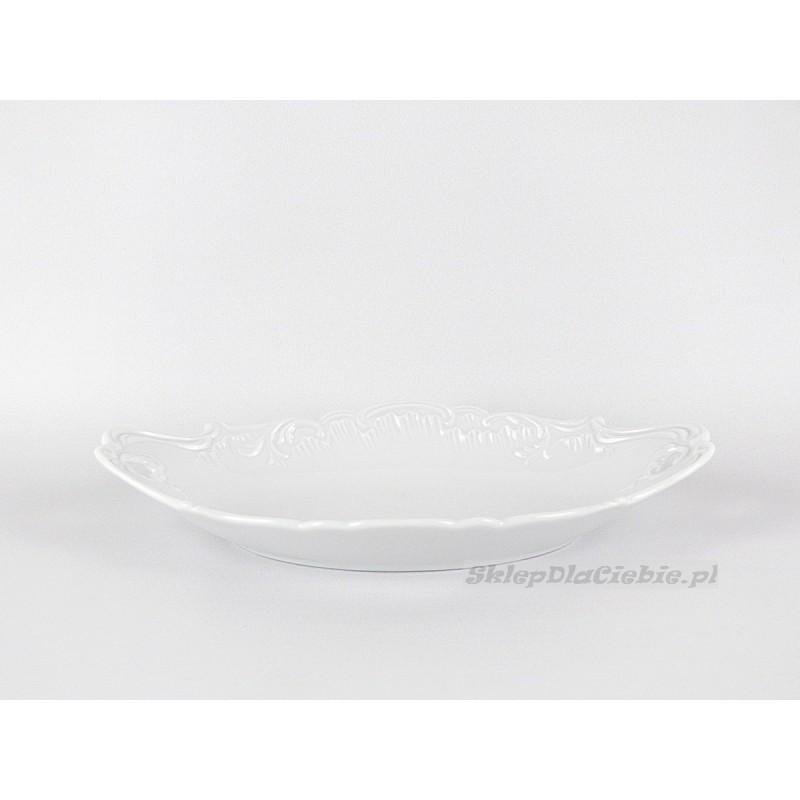 Rawierka 25 cm Ćmielów Rococo 001 (białe)