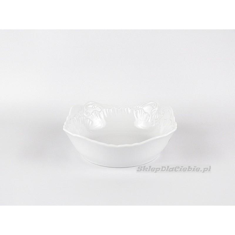 Salaterka 14 cm Ćmielów Rococo 001 (biała)