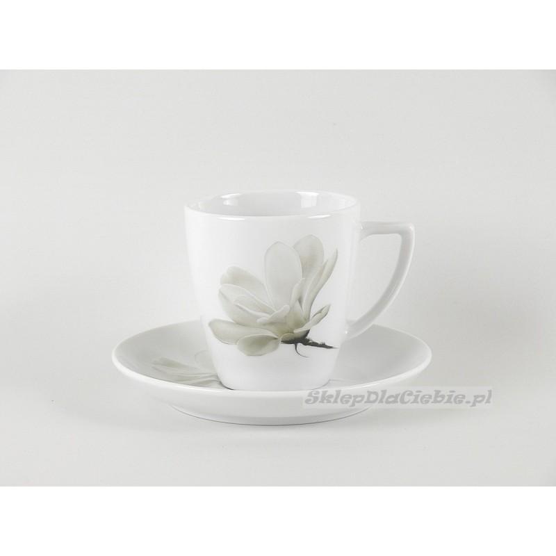 Filiżanka ze spodkiem Beata 0,2l 6474 (Magnolia)