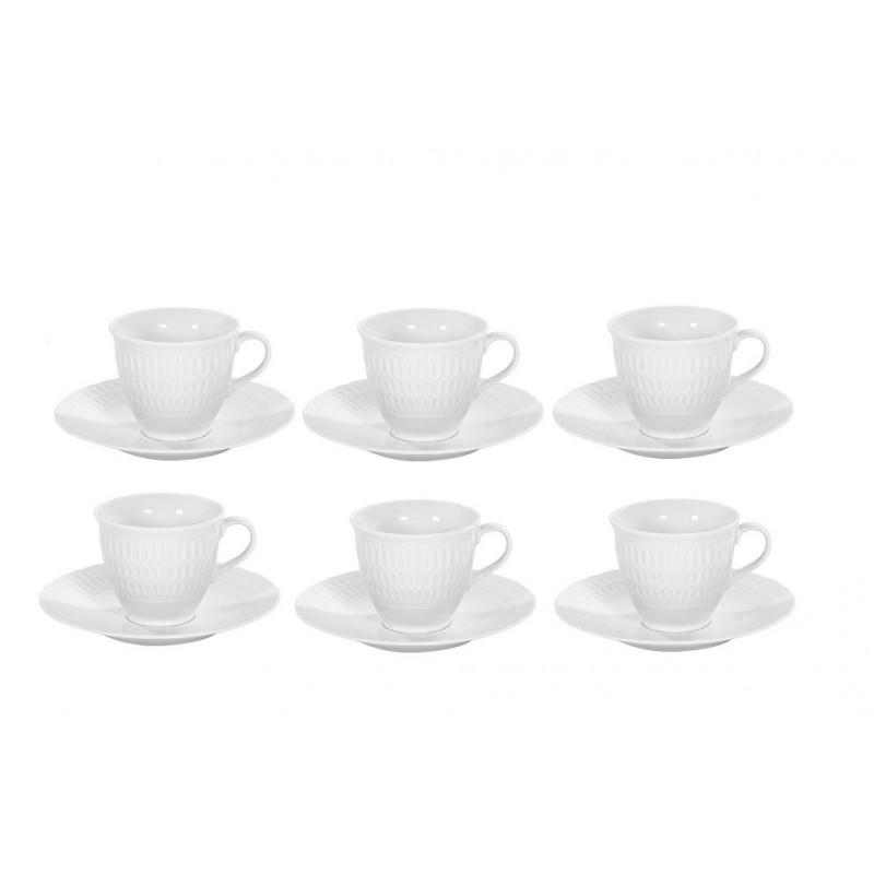 Zestaw do kawy 6 osób Sofia 0001