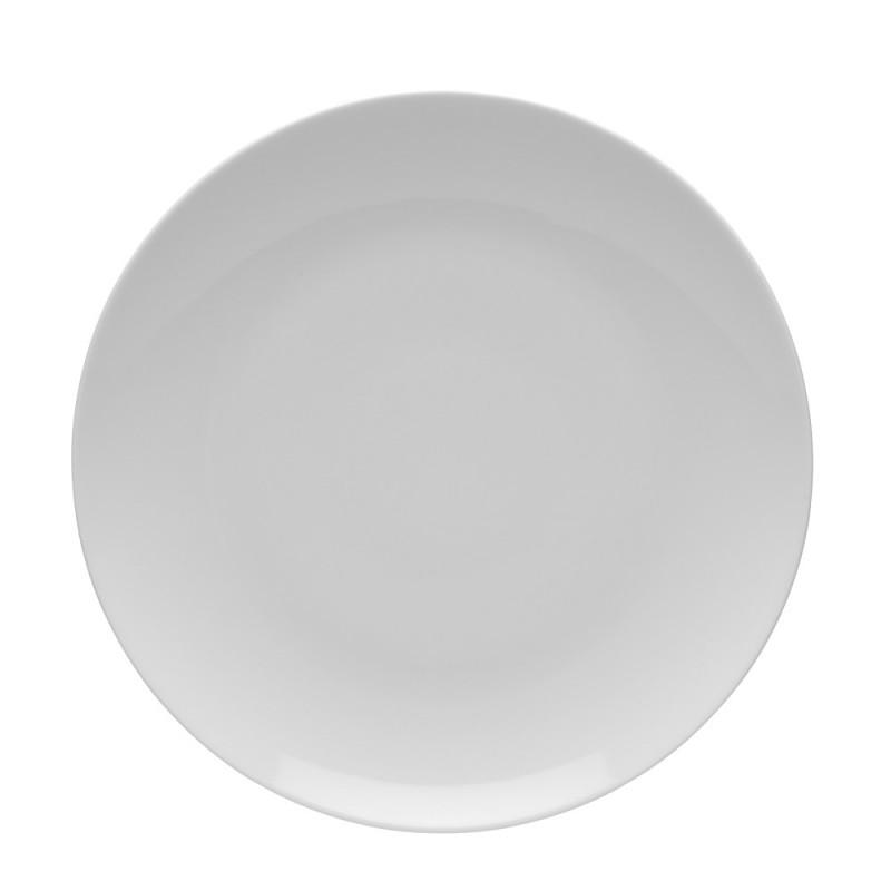 Talerz płytki 20,5 cm Boss biały