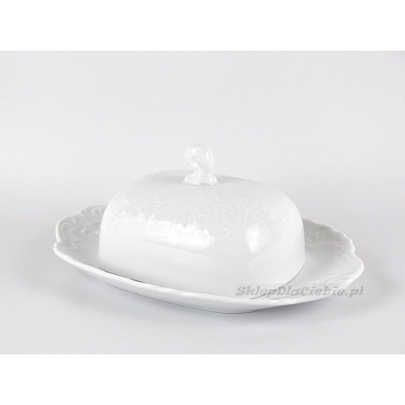 Maselnica Ćmielów Rococo 001 (biała)